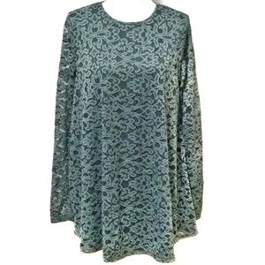 Show me your mumu Tyler tunic dress fleur de lis